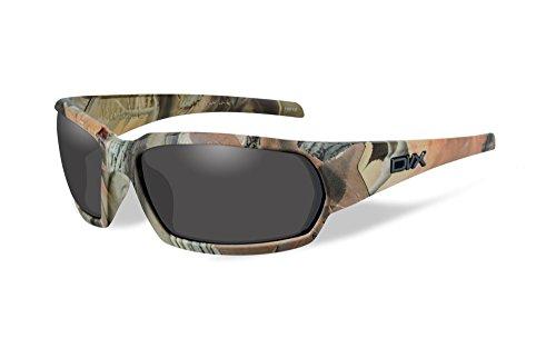 DVX Mojave - ANSI Z87.1 - Grey Lenses/Camouflage Frame (OSHA Compliant Safety Glasses)