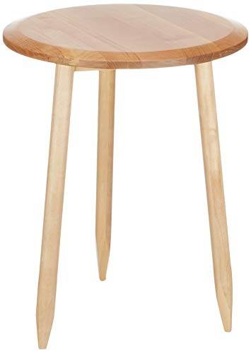 Marchio Amazon - Movian Đerdap - Tavolino da salotto in betulla massello, 45,73 x 45,73 x 58,5 cm, naturale
