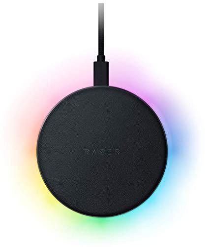 Razer Charging Pad Chroma ワイヤレス充電器 Qi チャージングパッド 【日本正規代理店保証品】 RC21-01600100-R371