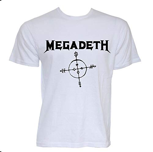 Megadeth Band T-Shirt Black Thrash Heavy Metal Music Cotton Official Concert