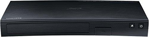 Samsung BD-J5900 3D Blu-ray Player (Curved Design, WLAN, HDMI, USB) schwarz