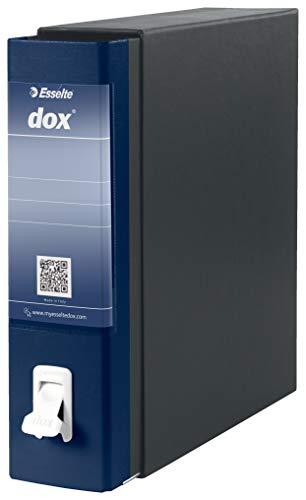 Esselte Dox 1 - Archivador de anillas con palanca (formato A4), color azul