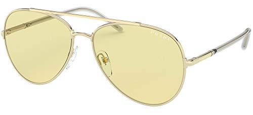 Prada Gafas de Sol PR 66XS Gold/Yellow 57/14/140 mujer