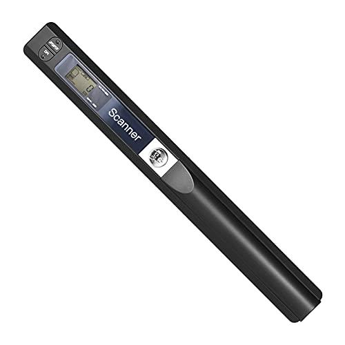 Escáner portátil del documento, exhibición del LCD del formato del analizador 900DPI JPG/PDF de Wirelessr A4 con el bolso de protección