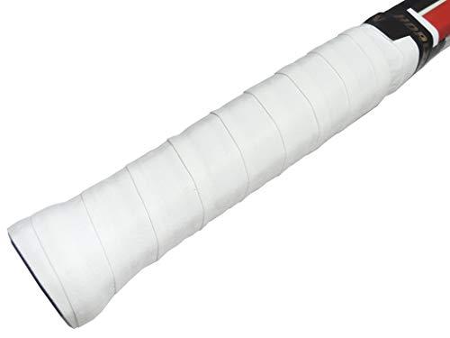 【HORIZON ホライズン】10本セット 手汗を究極吸汗 ストロング ドライグリップテープ ホワイト ロング対応 バドミントン ラケット オーバーグリップ