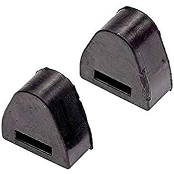NIXFACE 2pcs Tailgate Latch Rubber Stop Bumpers for Chevrolet Silverado GMC Sierra RH or LH