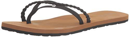 Volcom Women's Thrills Sandal, Black, 5