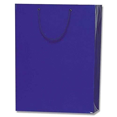 HEIKO 紙袋 ブライトバッグ G2 紺 10枚
