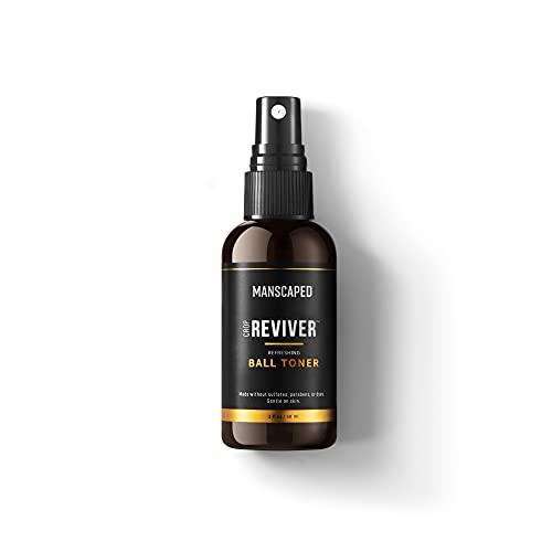 MANSCAPED™ The Crop Reviver™, Hydrating & Refreshing Men's Body Toner Spray, Cooling Groin Spritz with Soothing Aloe Vera