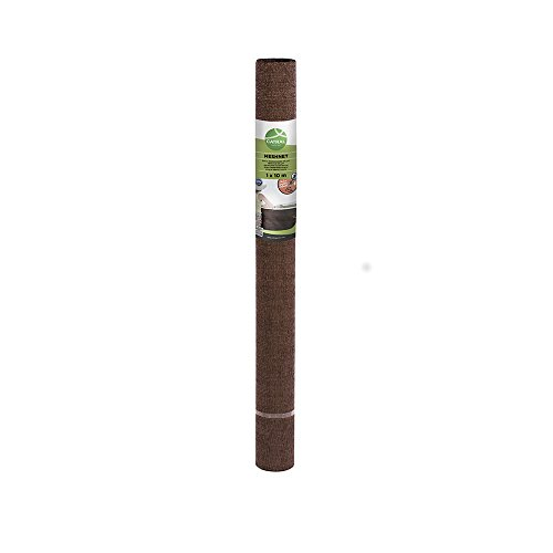 Catral 53010061 - Mini-rollo malla ocultación total, 150 x 1000 x 4 cm, color marrón