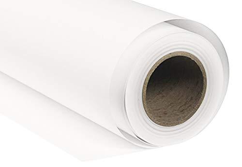 BD Fondale fotografico in carta Bianco lungo 11 metri, larghezza su richiesta massimo 2,72 metri (largo 2,72 m)