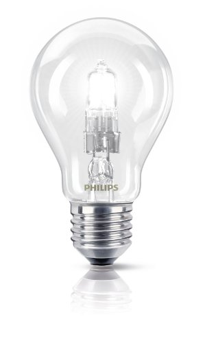 Philips Ampoule EcoHalogène Standard Culot E27 28 Watts consommés Equivalence incandescence : 35W