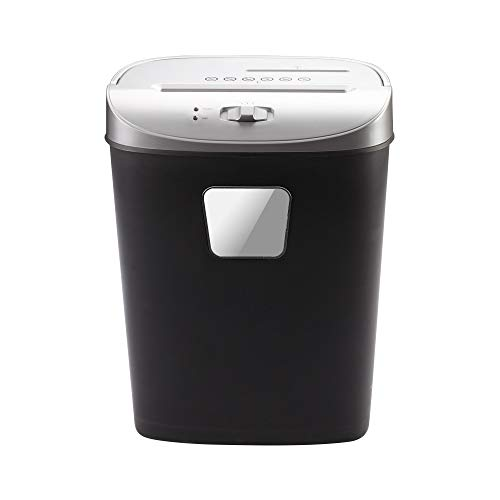 Find Bargain LEFJDNGB 10-Sheet High Security Micro-Cut Paper/Credit Card Shredder 10 Minutes Continu...