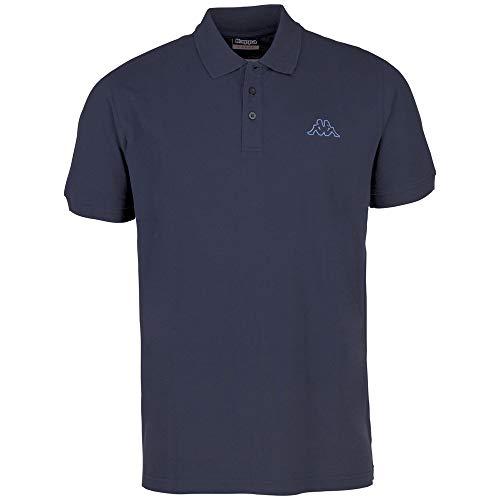 Kappa Herren PELEOT Poloshirt, 821 navy, 4XL