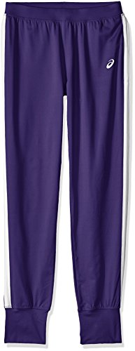 ASICS Damen Größe Lani Hose hoch, Damen, Lani™ Pant Tall, violett/weiß, MT