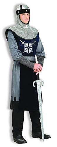 Forum Novelties mens Knight of the Round Table Adult Sized Costumes, Silver, Standard US