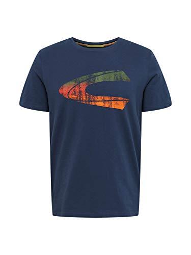 camel active Herren Halbarm T-Shirt, Dark Blue, XX-Large