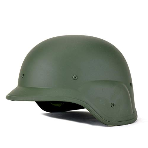 Implicitw Helm Tactical Game Cs Ausrüstung Plastikhelm Motorradhelm, Army Green