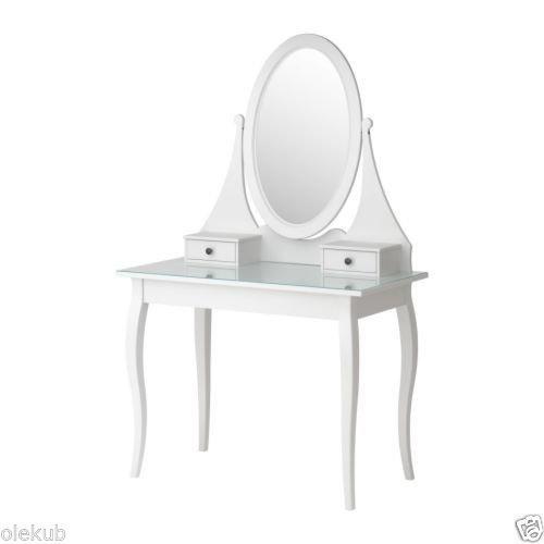 IKEA Lustro toaletkowe, białe 626.858.618