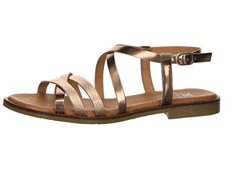 Kim Kay Damen Sandalen Sandale Gold Gr. 42