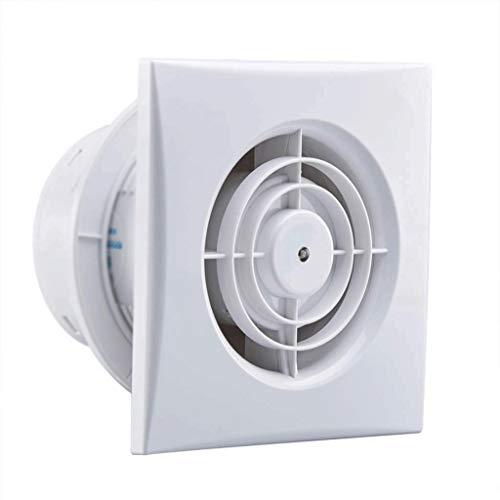 LXZDZ Ventilador de ventilación - Ventilador de conducto Ventilador de refuerzo Plástico Impermeable Tubo de ventilación Techo de escape