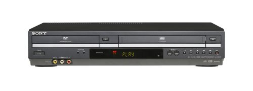 Sony SLV-D380P DVD/VCR Tunerless Progressive Scan DVD/VHS Combo Player (2009 Model), Black