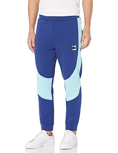 PUMA Dime Pants Pantalones, Elektro Blue-Angel Blue, M para Hombre