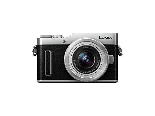 Panasonic Lumix G DC-GX880KECS - Cámara EVIL de 16 MP (M4/3, pantalla táctil abatible, Tecnología DFD, WiFi, 4K, tamaño bolsillo) - kit con objetivo Lumix Vario 12-32mm / F3.5-5.6, color negro y plata