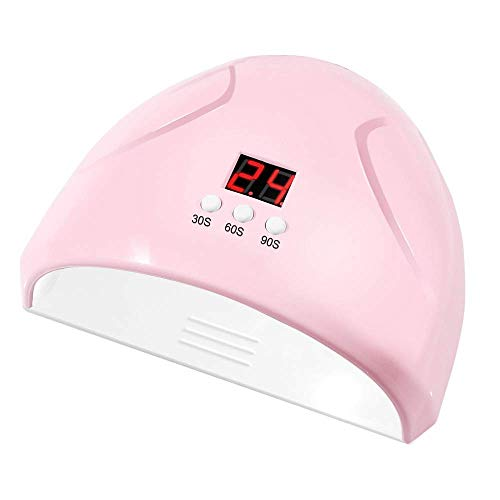 HWXDH Rose Nail Phototherapy Machine 36 W Smart Induction USB Power Nail Lights À Séchage Rapide Vernis À Ongles Colle Lampe pour Gel Laque