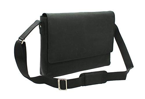 Visconti Messenger Bag 18516 Öl schwarz