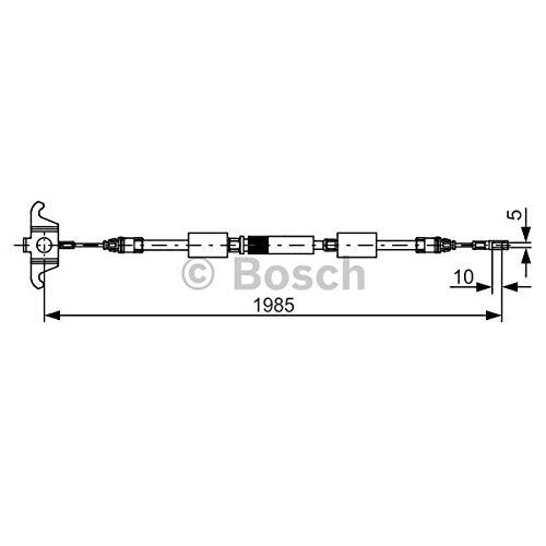 Bosch 1987482128Parking/Handbremsseil
