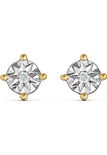 Guido Maria Kretschmer Damen-Ohrstecker 2 Diamant One Size Gold 32013666