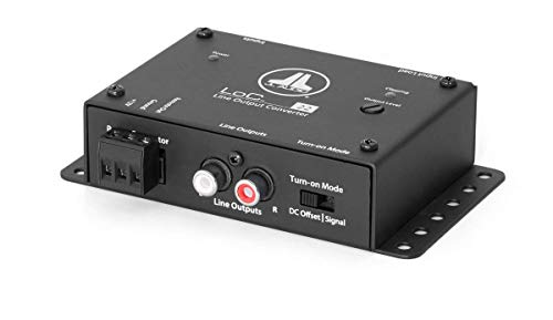 JL Audio LoC-22: Fully Active, Two-Channel Speaker Level to Line Output Converter with Auto Turn-On