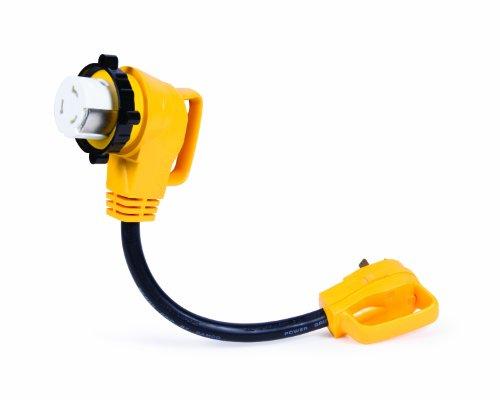 Camco 55582 PowerGrip 45,7 cm 90 ° Verrouillage électrique Adaptateur