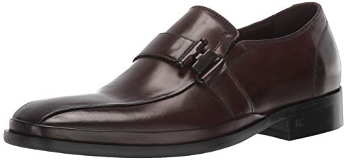 Kenneth Cole REACTION Men's Avery Slip On Loafer, Brown, 11.5 M US