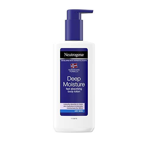 Neutrogena Deep Moisture Lotion corporelle Dry Skin pour peaux sèches 250 ml
