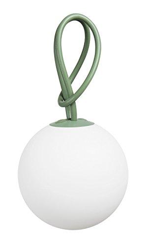Fatboy® Bolleke grün | Hängelampe für Innen & Außen | ohne Kabel | aufladbar mit USB | 20 x 20 x 100 cm