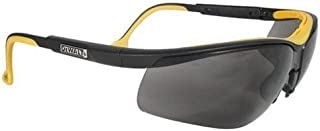 Dewalt DPG55-2C Dual Comfort Smoke High Performance Protective Safety Glasses with Dual-Injected Rubber Frame and Temples