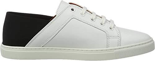 Liebeskind Berlin Damen LF173300 Calf Sneakers, Mehrfarbig (Ivory White), 39 EU