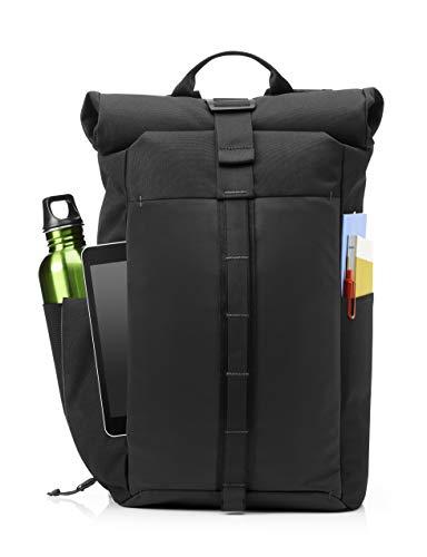 HP Pavilion Roll Top Backpack, Black