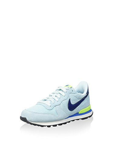 Nike Damen WMNS Internationalist Fitnessschuhe, blau/Limette, 36 EU