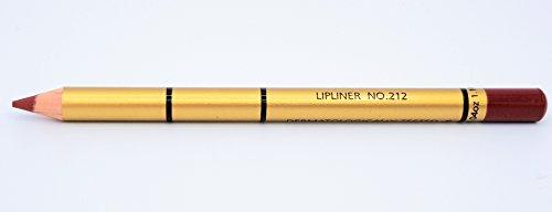 Brooklin Lipliner Bleistift Dunkle Kirsche 212 Wasserdicht Langlebig