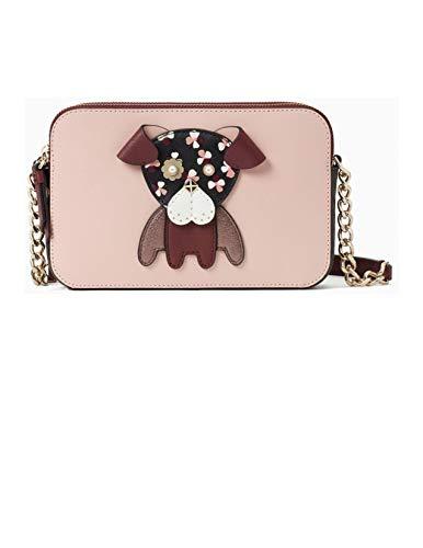 Kate Spade New York Kate Spade Floral Pup Dog Novelty Cross Body Bag,Medium