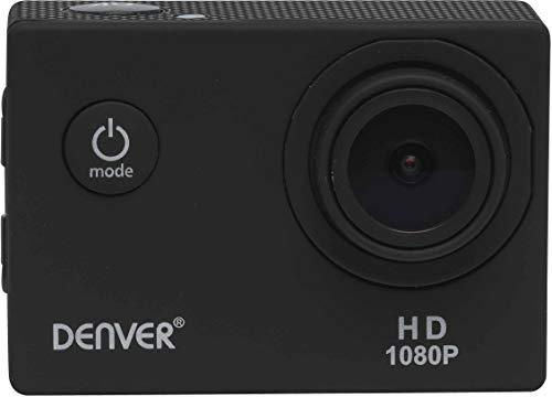 Denver ACT-1015 Actioncam inklusive Wasserschutzcase, Full-HD, Schwarz