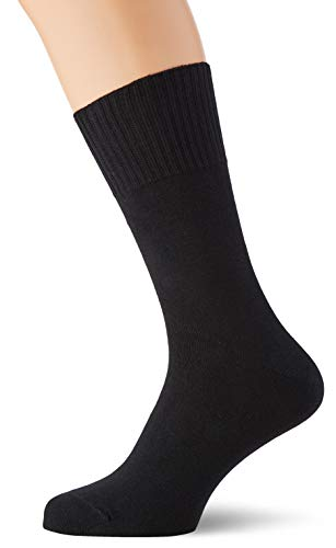 Living Crafts Komfort-Socken 35/36, black