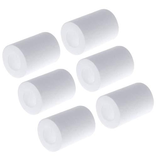 NLLeZ 1Set Water Outlet Purifier Universal Faucet Filter For Kitchen Bathroom Shower Household Filter PP Cotton High Density Practica (Color : E)