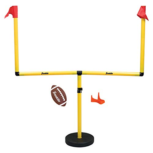 Franklin Sports Future Champs Youth Football Field Adjustable Goal Post Set
