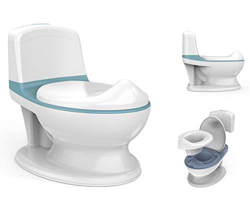 Babify Orinal para bebés y niños My First Toilet - Con Pulsador Interactivo