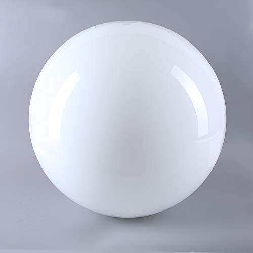 Cristal opalino brillante, diámetro 400 mm, cristal de repuesto para lámpara