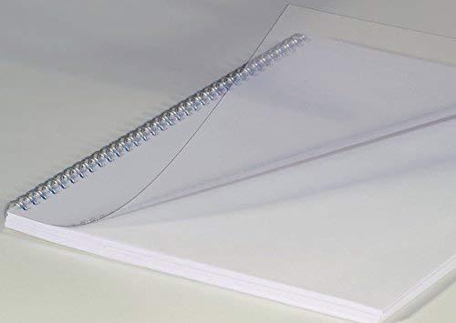 Renz Deckblätter, DIN A4, transparent klar, Stärke 0.3 mm